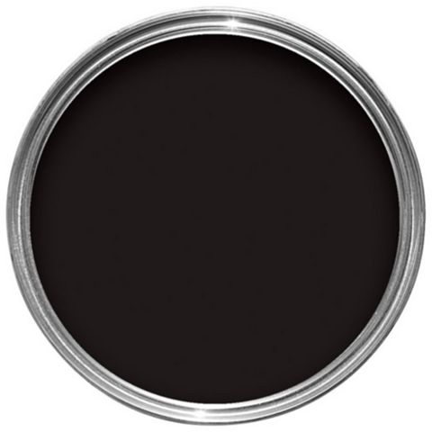 Sandtex One Coat Exterior Black Gloss Wood & Metal Paint 2.5L