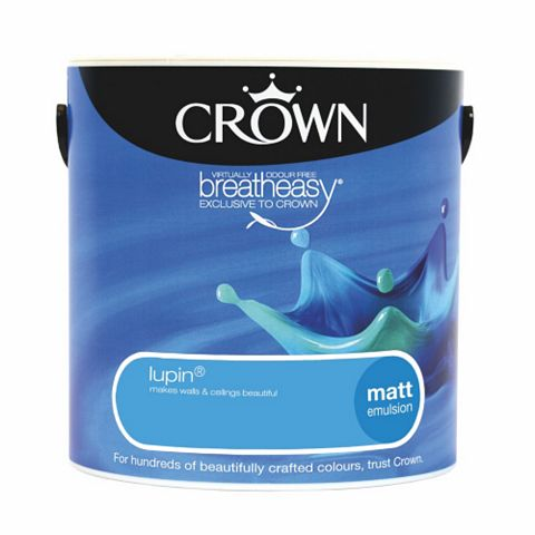 Crown Emulsion Paint Lupin, 2.5L