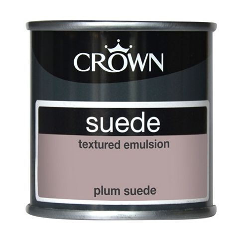 Crown Plum Suede Matt Emulsion Paint 125ml Tester Pot
