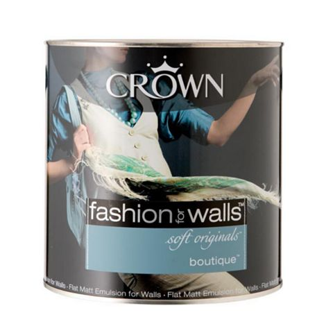 Crown Fashion For Walls® Boutique Flat Matt Emulsion Paint 2.5L