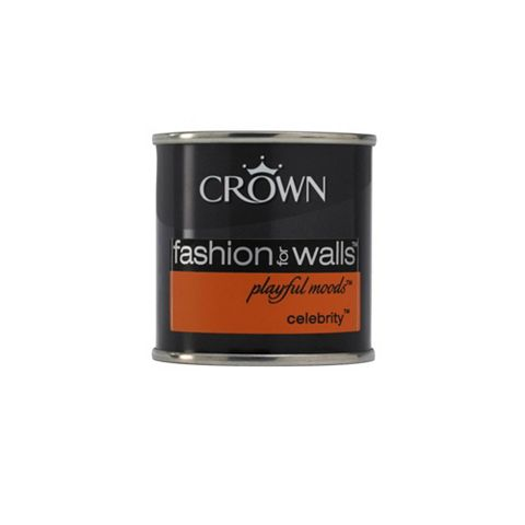 Crown Emulsion Paint Celebrity, 125ml Tester Pot