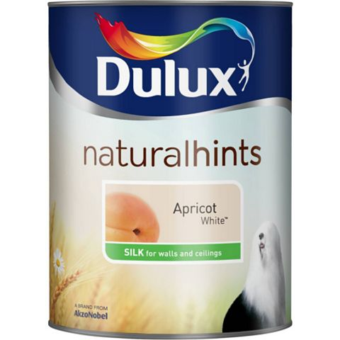 Dulux Emulsion Paint Apricot White, 5L