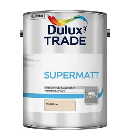 Dulux Trade Magnolia Matt Emulsion Paint 5L