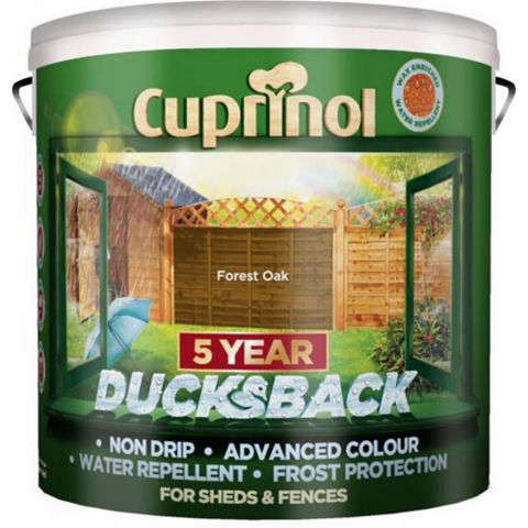 Cuprinol Shed & Fence Treatment Forest Oak, 9L