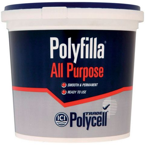 Polycell Trade Polyfilla All Purpose Filler 2kg