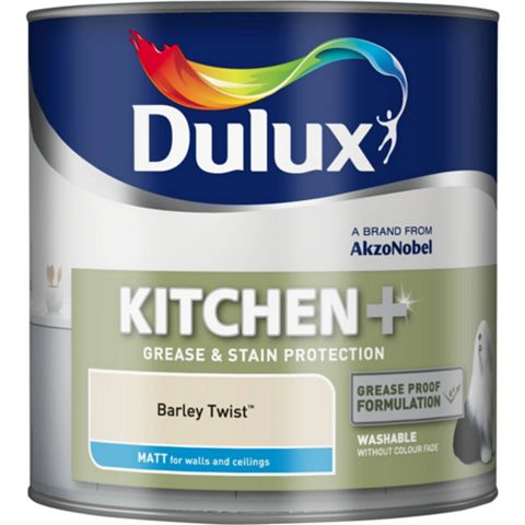 Dulux Kitchen + Barley Twist Matt Emulsion Paint 2.5L