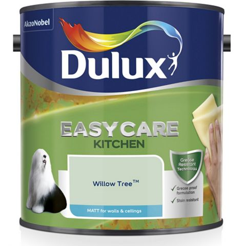 Dulux Kitchen + Willow Tree Matt Emulsion Paint 2.5L