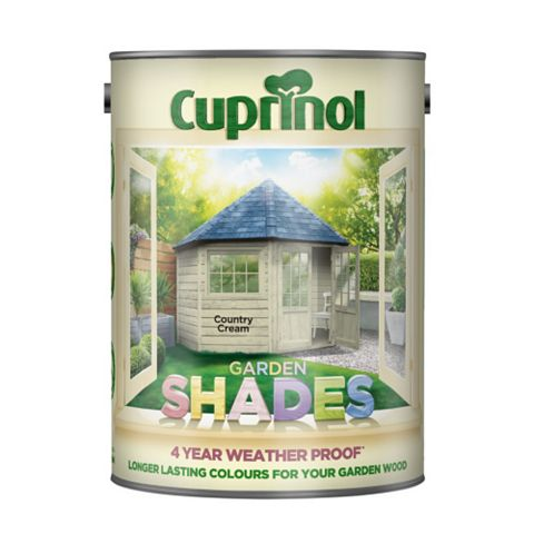 Cuprinol Woodstain Country Cream, 5L