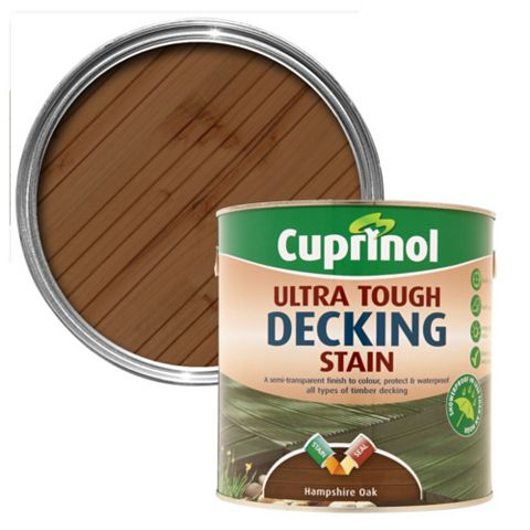 Cuprinol Ultra Tough Hampshire Oak Decking Stain 2.5L