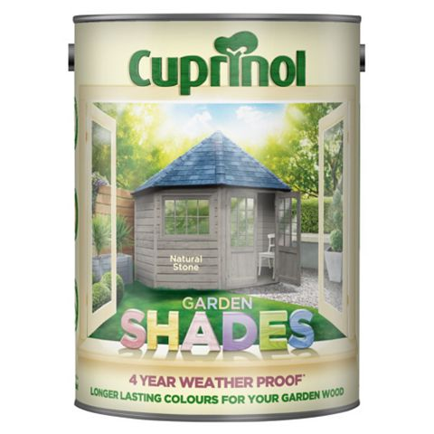 Cuprinol Garden Natural Stone Wood Paint 5L