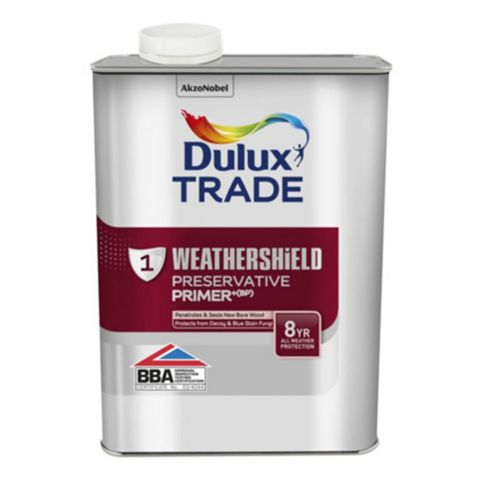 Dulux Trade Weathershield Primer 1L Can