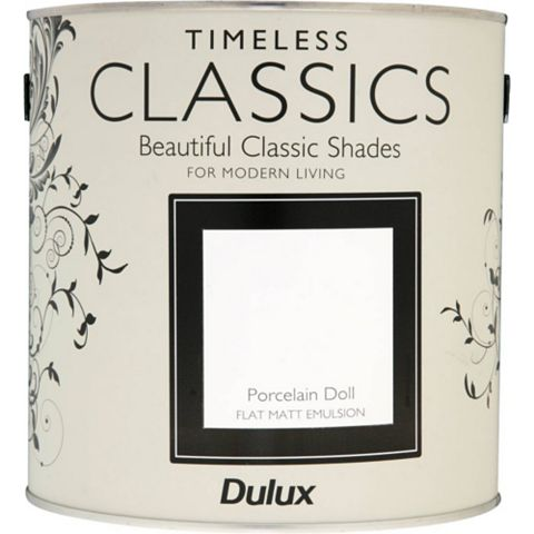 Dulux Timeless Classics Porcelain Doll Matt Emulsion Paint 2.5L