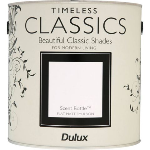 Dulux Timeless Classics Scent Bottle Matt Emulsion Paint 2.5L