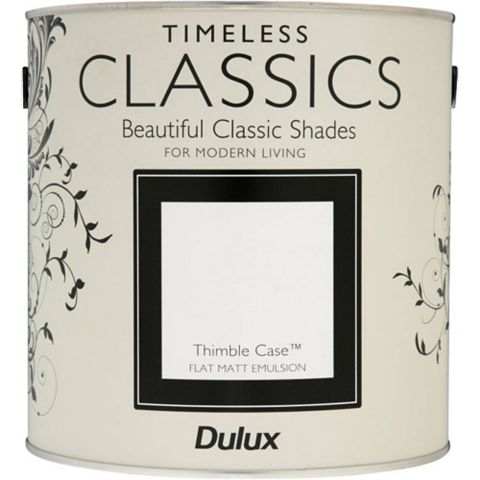 Dulux Timeless Classics Thimble Case Matt Emulsion Paint 2.5L