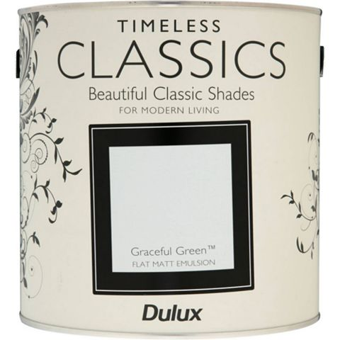 Dulux Timeless Classics Graceful Green Matt Emulsion Paint 2.5L