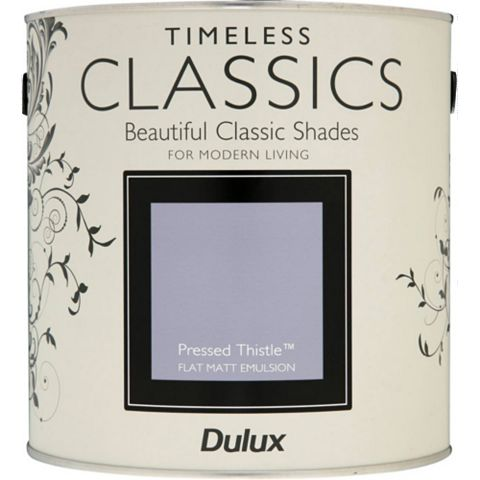Dulux Timeless Classics Pressed Thistle Matt Emulsion Paint 2.5L
