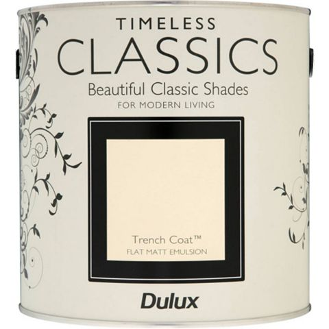 Dulux Timeless Classics Trench Coat Matt Emulsion Paint 2.5L