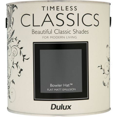 Dulux Timeless Classics Bowler Hat Matt Emulsion Paint 2.5L