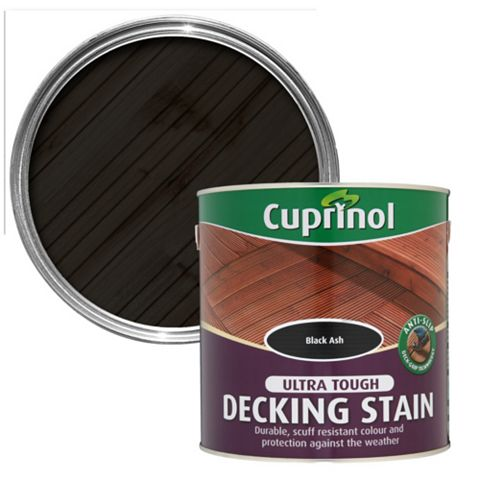 Cuprinol Ultra Tough Black Ash Decking Stain 2.5L