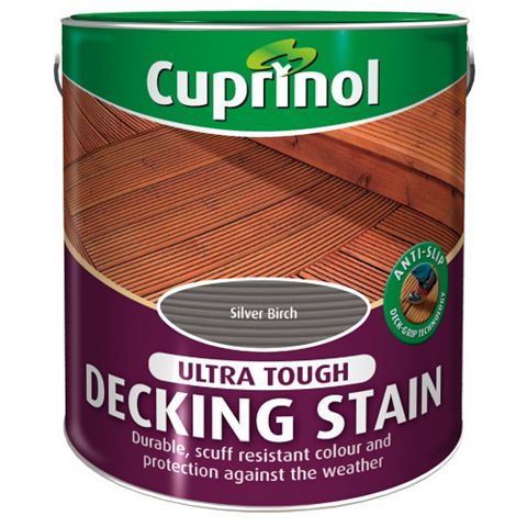 Cuprinol Ultra Tough Silver Birch Decking Stain 2.5L
