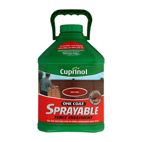 Cuprinol Shed & Fence Treatment Rich Cedar, 5L