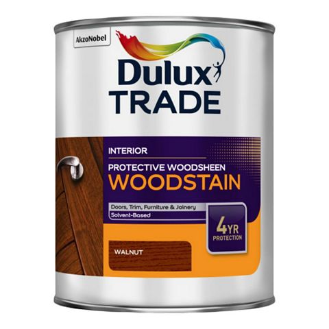 Dulux Trade Protective Woodsheen Walnut, 1L