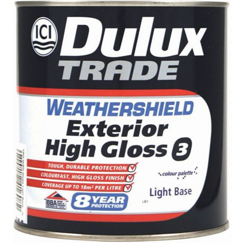 Dulux exterior gloss paint 1l tradepoint - Wickes exterior gloss paint set ...