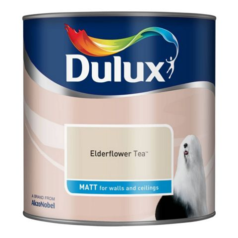 Dulux Elderflower Tea Matt Emulsion Paint 2.5L