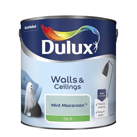 Dulux Mint Macaroon Silk Emulsion Paint 2.5L
