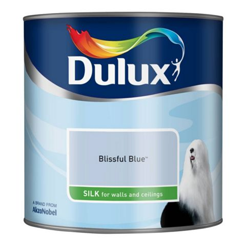 Dulux Blissful Blue Silk Emulsion Paint 2.5L