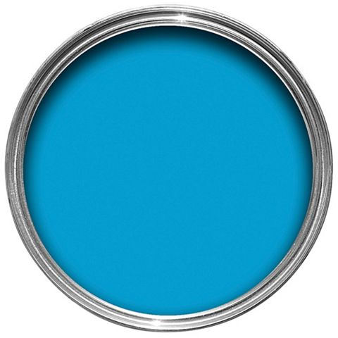 Dulux Endurance Striking Cyan Matt Emulsion Paint 2.5L