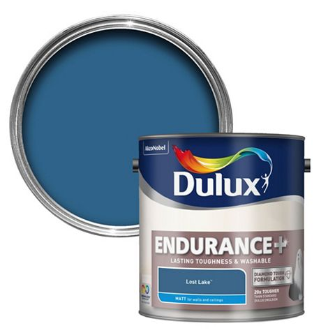 Dulux Endurance Lost Lake Matt Emulsion Paint 2.5L