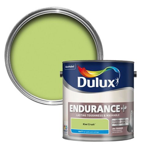 Dulux Endurance Kiwi Crush Matt Emulsion Paint 2.5L