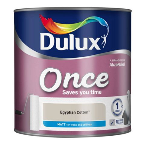 Dulux Egyptian Cotton Matt Emulsion Paint 2.5L