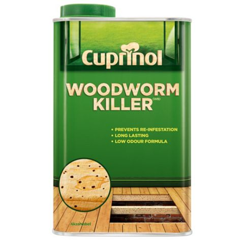 Cuprinol Woodworm Killer 1L
