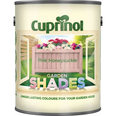 Cuprinol Garden Wood Protector Pink Honeysuckle, 1L