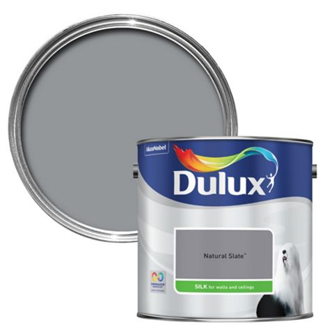 Dulux Standard Natural Slate Silk Paint 2.5L