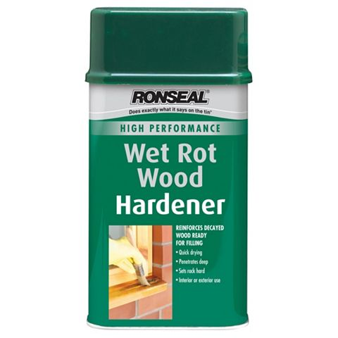 Ronseal High Performance Wet Rot Wood Hardener 500ml