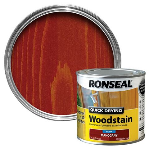 Ronseal Mahogany Wood Stain 250ml