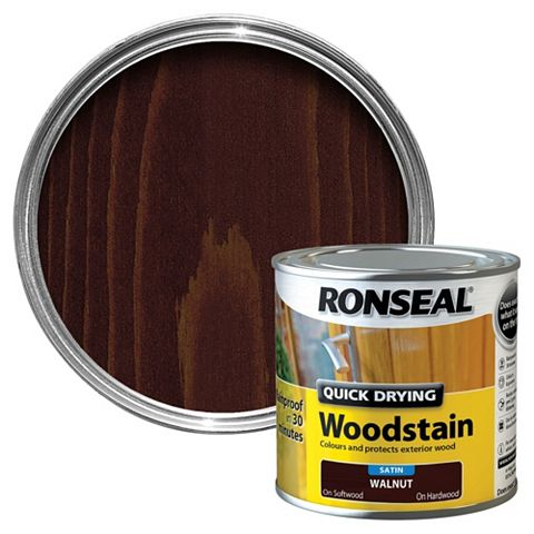 Ronseal Woodstain Walnut, 250ml