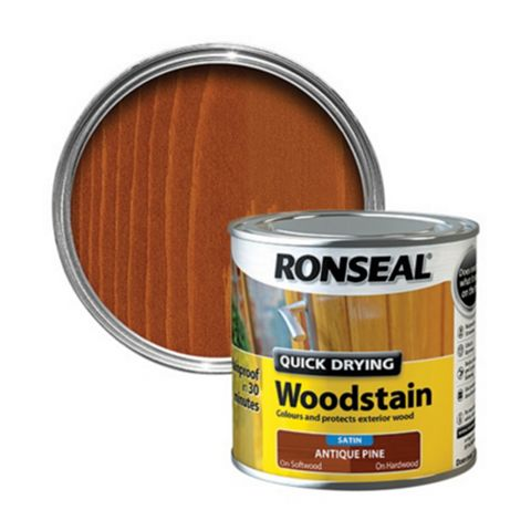 Ronseal Antique Pine Woodstain 250ml