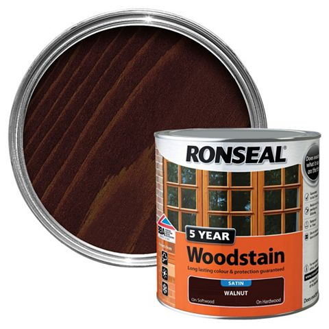 Ronseal Walnut Wood Stain 2.5L