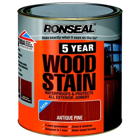 Ronseal Woodstain Antique Pine, 2.5L