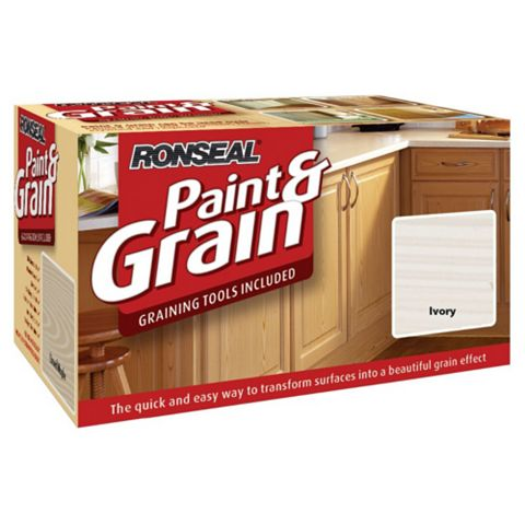 Ronseal Paint & Grain Ivory Special Effect Paint 1.5L