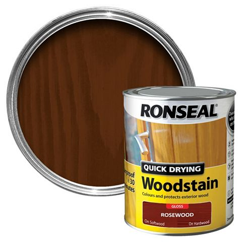 Ronseal Woodstain Rosewood, 750ml