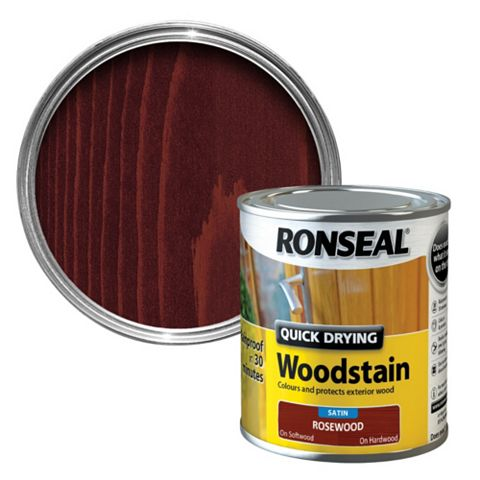 Ronseal Rosewood Woodstain 250ml
