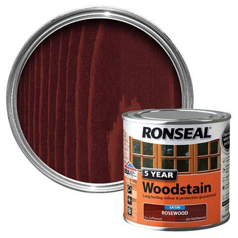 Ronseal Rosewood Wood Stain 250ml