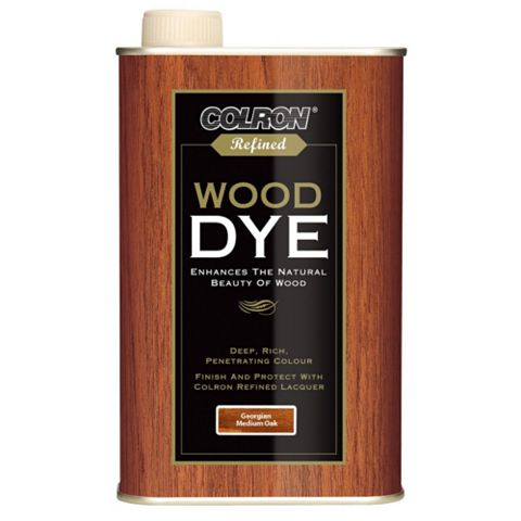 Colron Refined Georgian Medium Oak Wood Dye 500ml