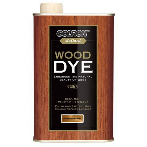 Colron Refined Jacobean Dark Oak Wood Dye 500ml
