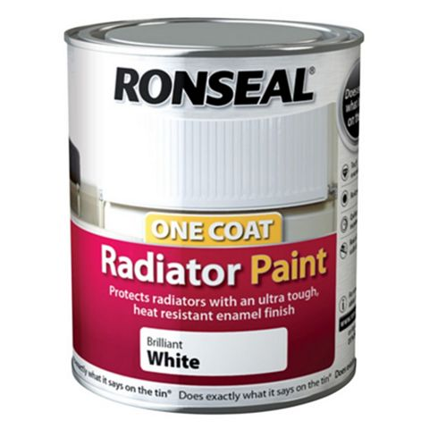 Ronseal Radiator Paint Brilliant White, 250ml